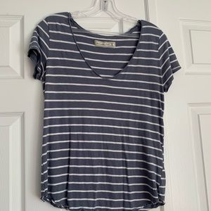 Abercrombie & Fitch short sleeve striped t shirt